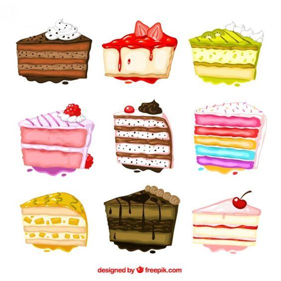 Прикольные и красивые арт-картинки сладостей и вкусностей - сборка 30