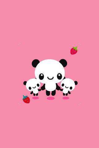 Прикольные и необычные картинки Панда на заставку телефона 5