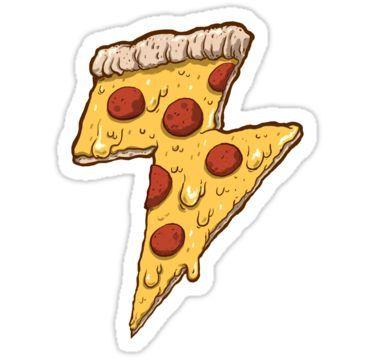 Прикольные и необычные картинки пиццы для срисовки - сборка 1
