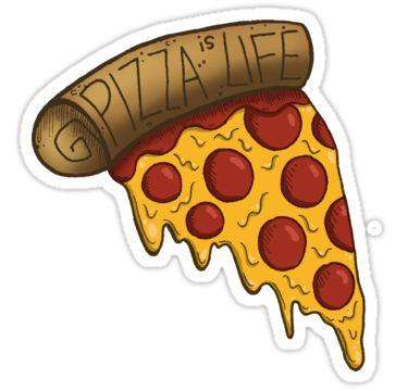 Прикольные и необычные картинки пиццы для срисовки - сборка 11