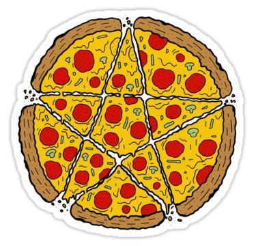 Прикольные и необычные картинки пиццы для срисовки - сборка 13