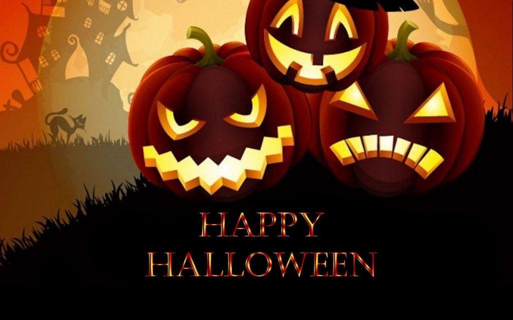 Прикольные картинки поздравления на Хэллоуин - лучшие открытки 3