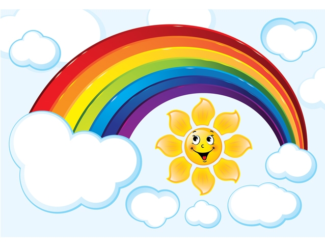 Радуга картинки для детей и малышей - самые красивые, прикольные 11
