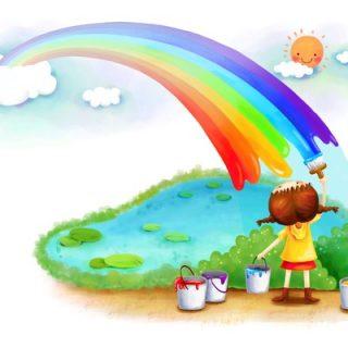 Радуга картинки для детей и малышей - самые красивые, прикольные 5