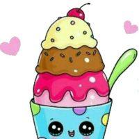 Рисунки и картинки мороженого для срисовки - подборка 2018 4