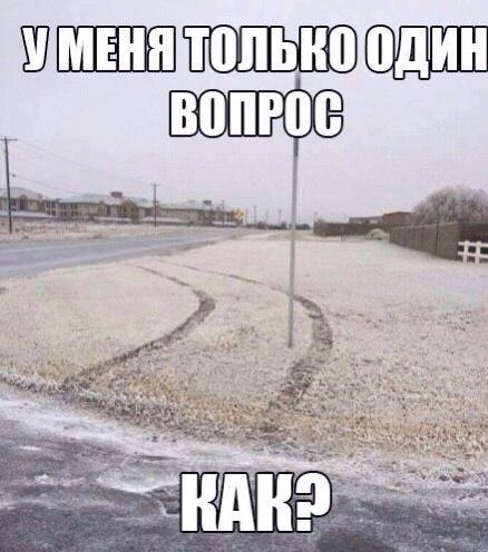 Смешные и забавные картинки про зиму и снег - подборка 6