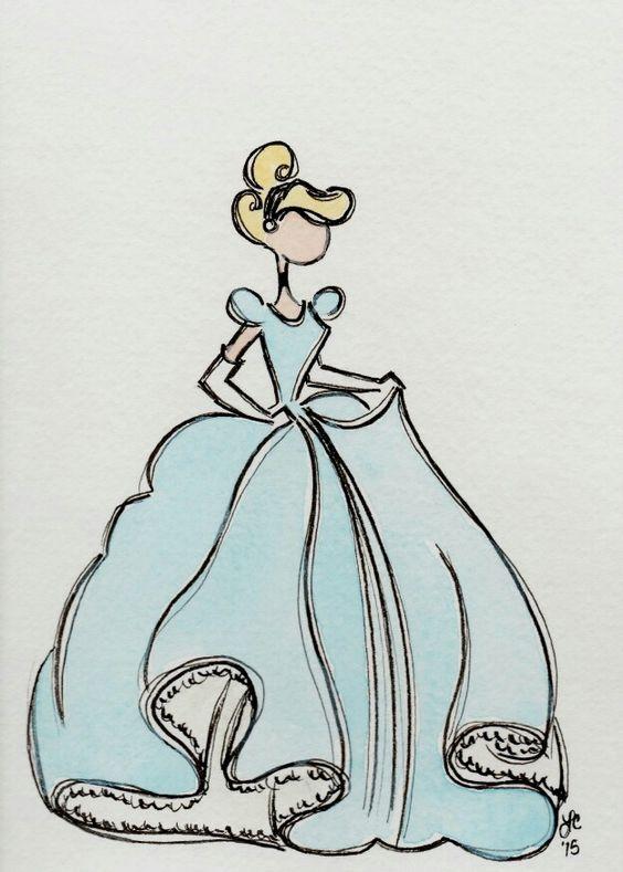 Удивительные и красивые картинки принцесс, принцесс в платьях 18