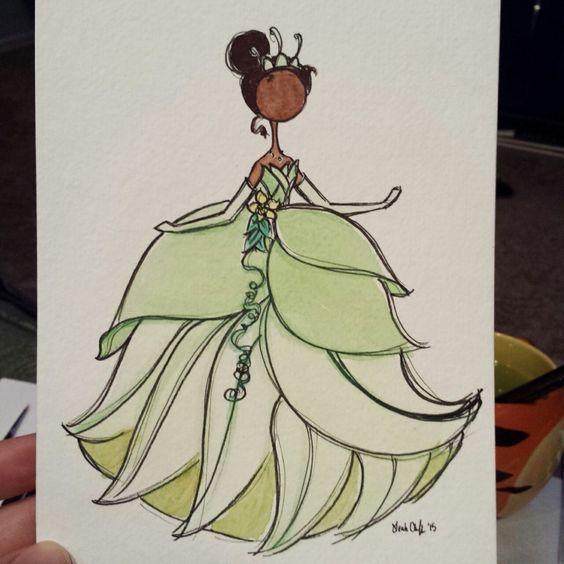 Удивительные и красивые картинки принцесс, принцесс в платьях 22