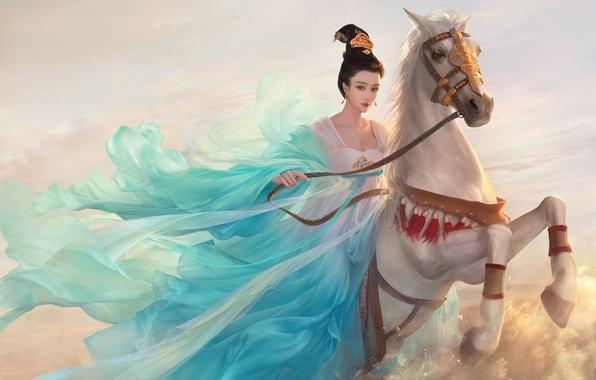 Удивительные и красивые картинки принцесс, принцесс в платьях 3