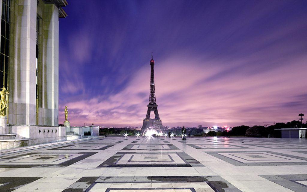 Эйфелева башня - очень красивые и удивительные картинки 12