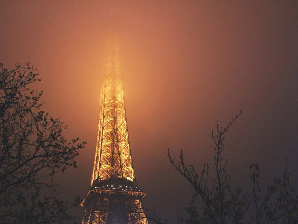 Эйфелева башня - очень красивые и удивительные картинки 4