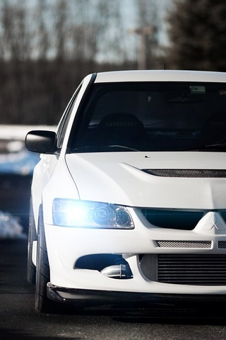 Mitsubishi Lancer Evolution - классные и крутые картинки, обои 13