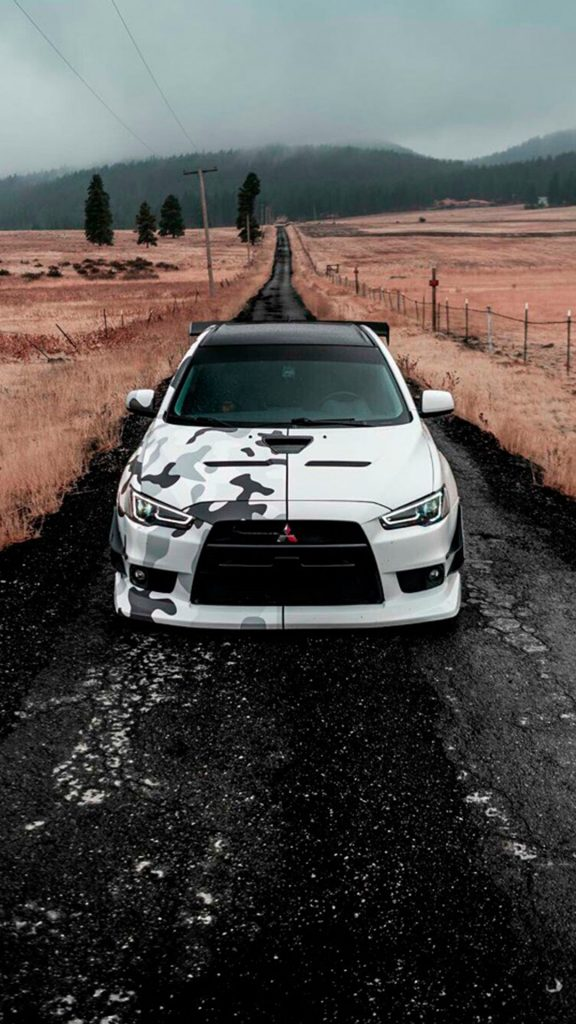 Mitsubishi Lancer Evolution - классные и крутые картинки, обои 6