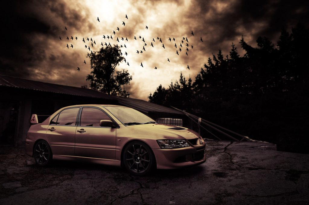 Mitsubishi Lancer Evolution - классные и крутые картинки, обои 9