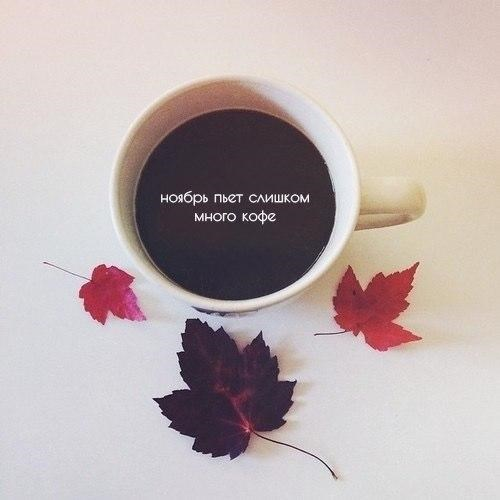 Доброе утро ноября - самые красивые и милые открытки, картинки 1