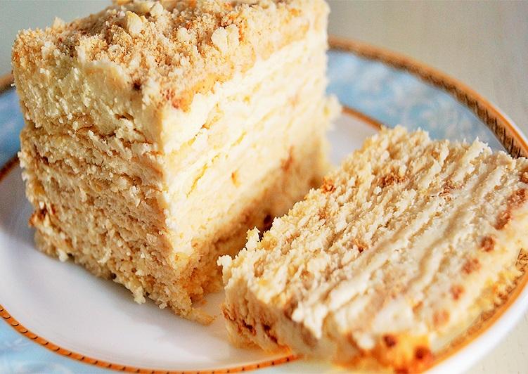 Как приготовить быстро вкусный торт из печенья - пошаговый рецепт 1
