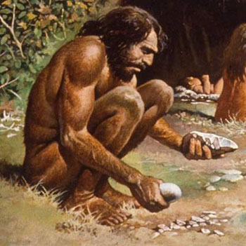 Картинки древний человек для детей - самые прикольные и интересные 5