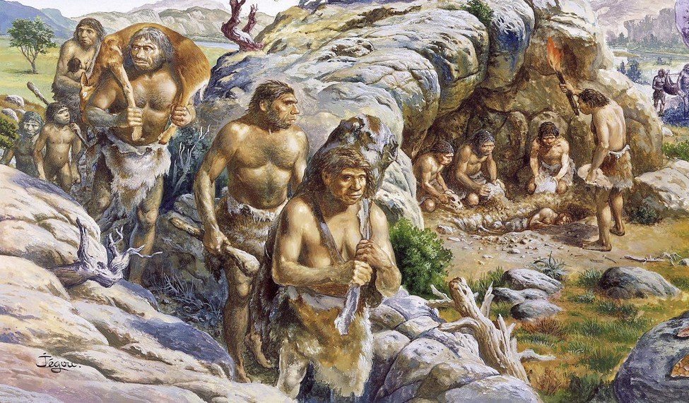 Картинки древний человек для детей - самые прикольные и интересные 6