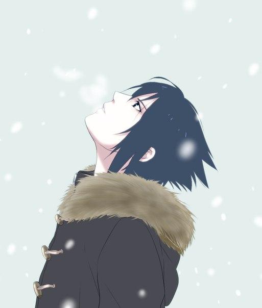 Классные картинки Саске Учиха. Подборка изображений из аниме Наруто 14