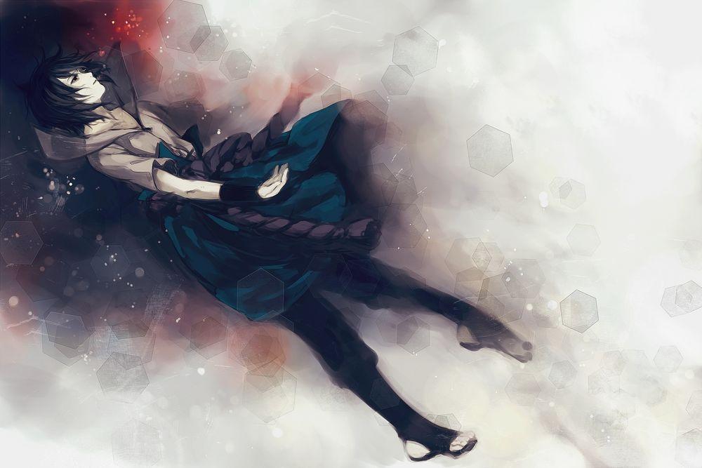Классные картинки Саске Учиха. Подборка изображений из аниме Наруто 7