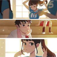 Красивые иллюстрации и мини-комиксы про девушек и парней - сборка 3