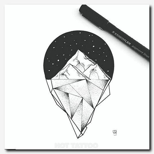 Красивые и прикольные картинки, рисунки гор для срисовки - сборка 13