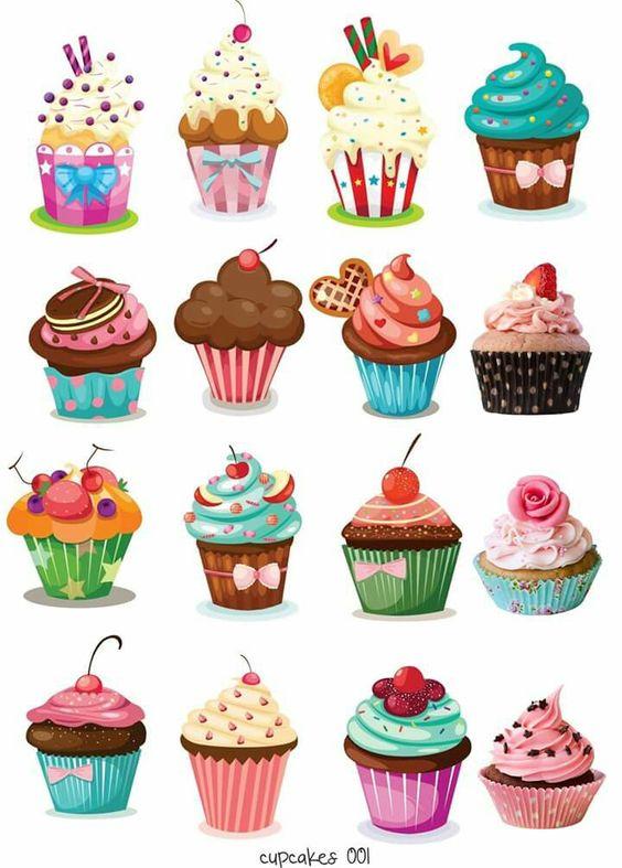 Веселые картинки пирожных
