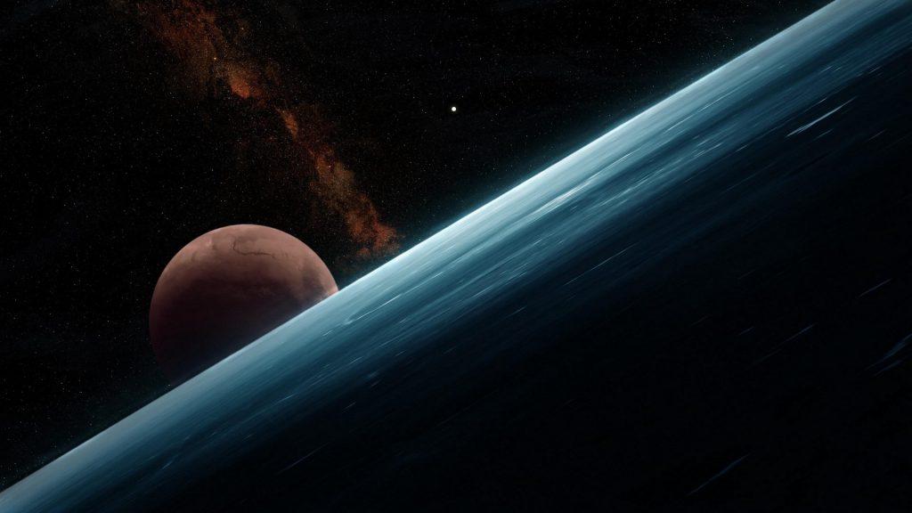 Красивые и прикольные обои космоса для рабочего стола - сборка №10 1
