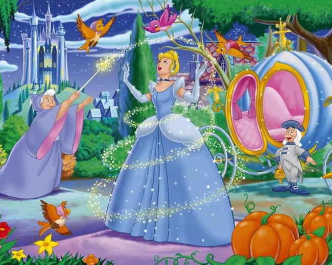 Красивые картинки Золушки для детей из сказки - подборка 7