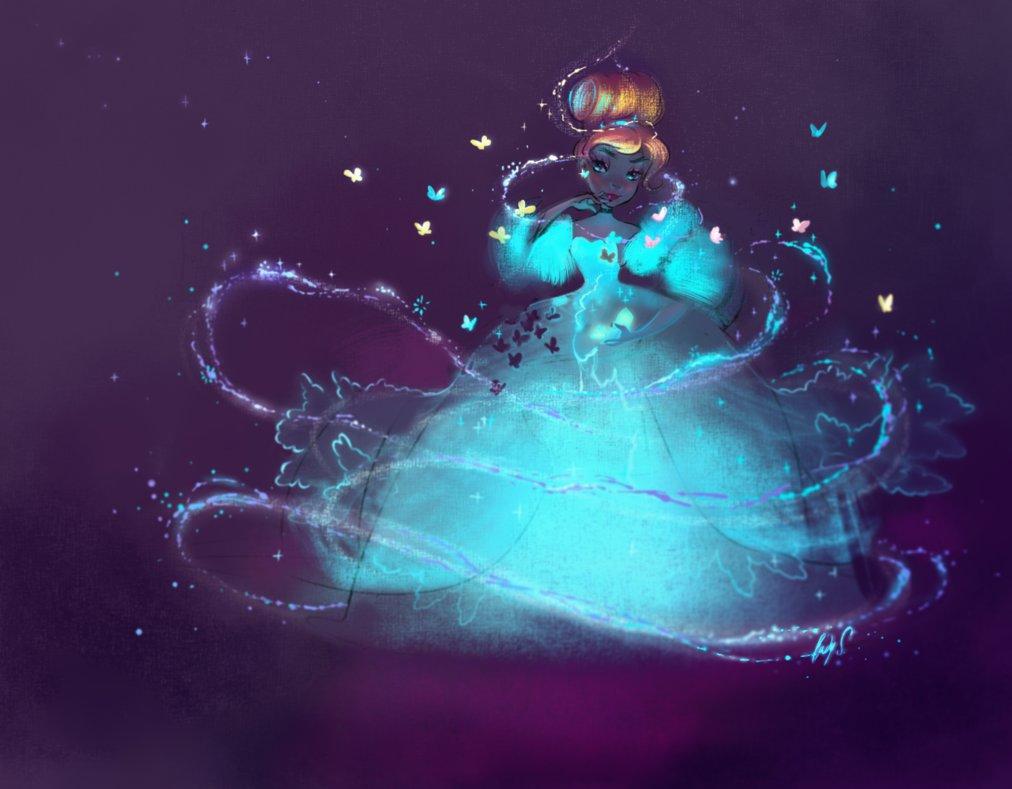 Красивые картинки Золушки для детей из сказки - подборка 9