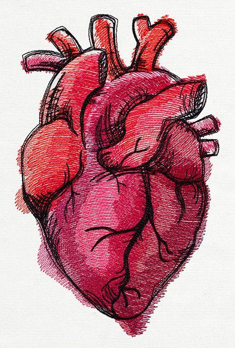 Красивые картинки Сердца для срисовки - самые необычные 5