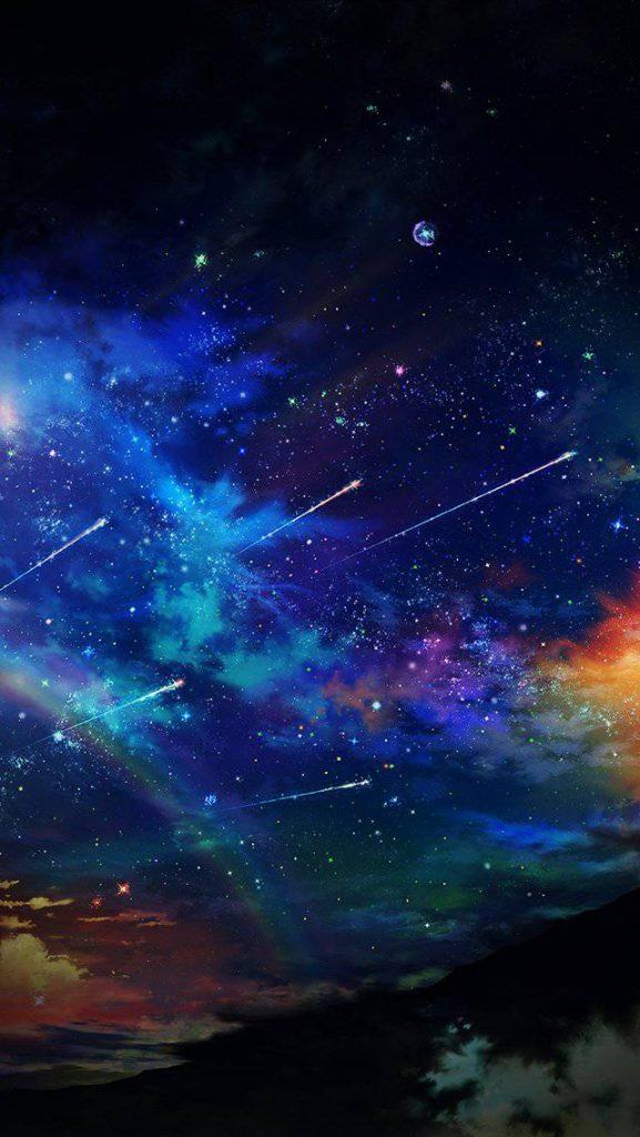 Красивые картинки на телефон Звездное небо на заставку - подборка 2