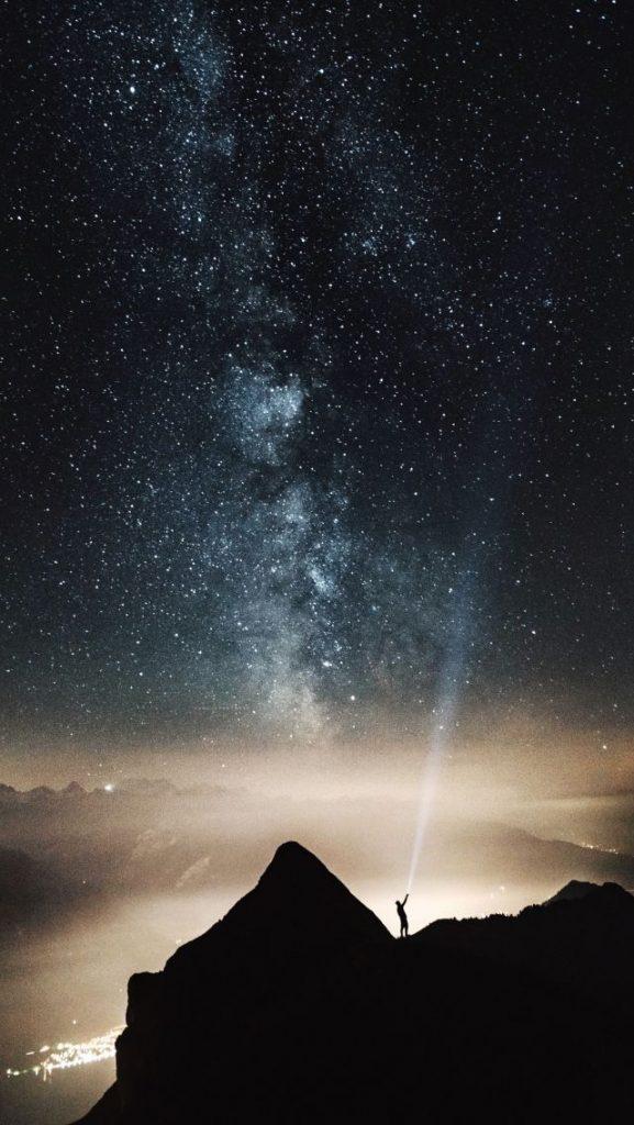 Красивые картинки на телефон Звездное небо на заставку - подборка 5