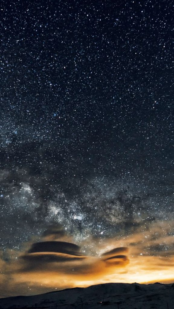 Красивые картинки на телефон Звездное небо на заставку - подборка 6