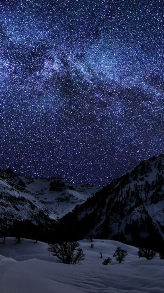 Красивые картинки на телефон Звездное небо на заставку - подборка 9