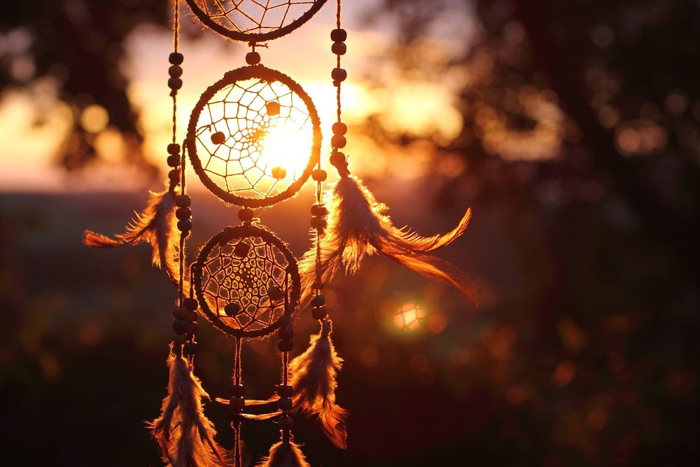 Красивые картинки обои Ловец снов на телефона на заставку - сборка 11