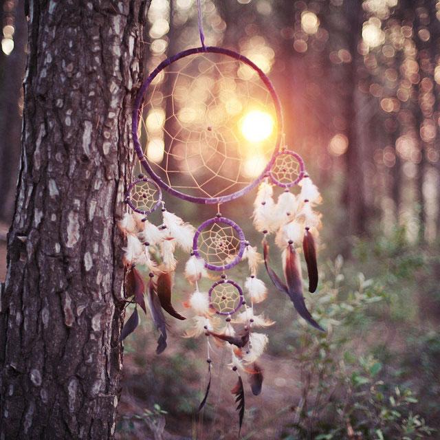 Красивые картинки обои Ловец снов на телефона на заставку - сборка 3