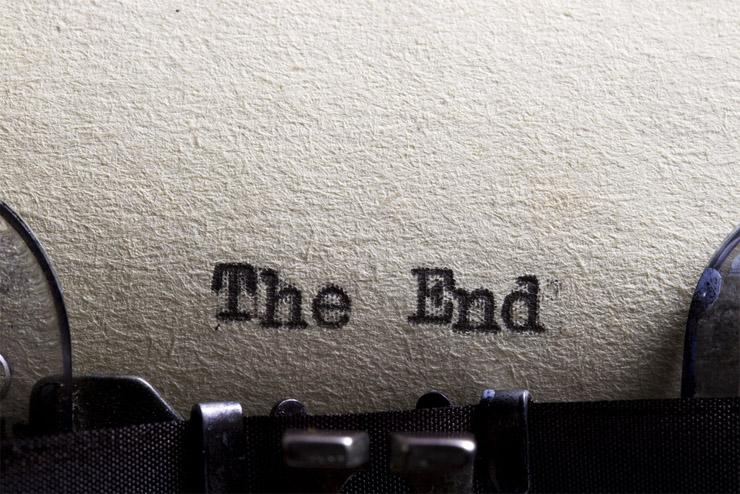 Красивые картинки со смыслом со словом Конец, The End - сборка 10