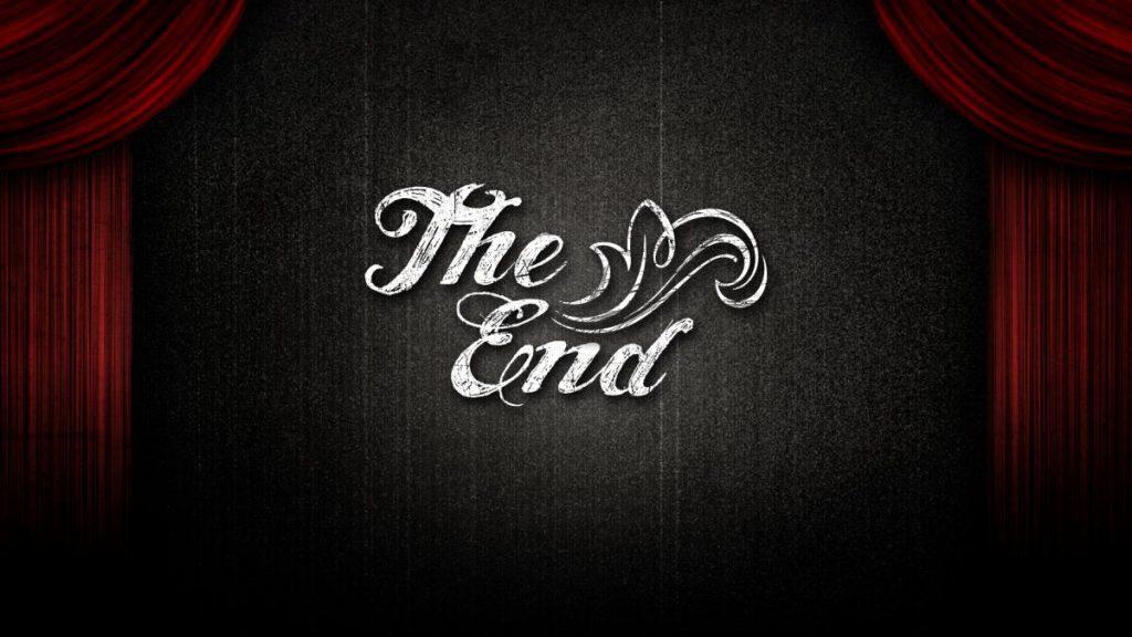 Красивые картинки со смыслом со словом Конец, The End - сборка 11