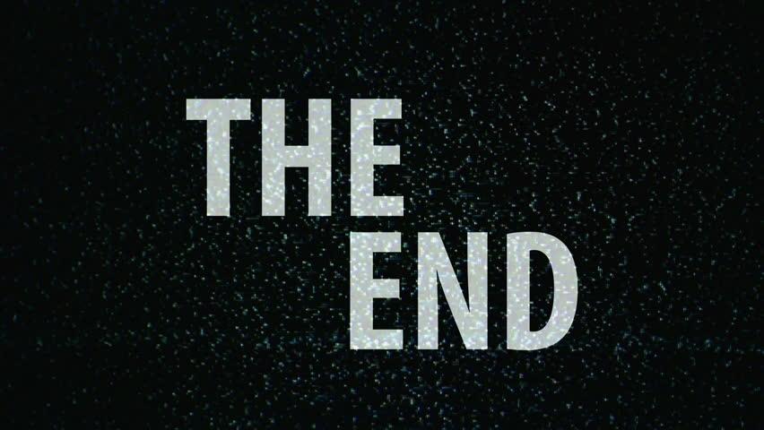 Красивые картинки со смыслом со словом Конец, The End - сборка 9
