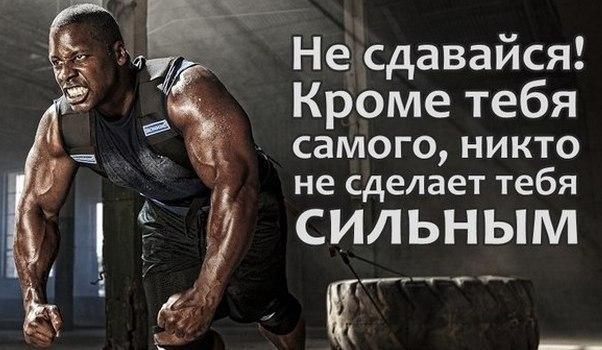 Красивые цитаты и высказывания про спорт и мотивацию - сборка 11