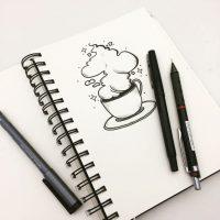 Лучшие картинки для девочек для срисовки - милая коллекция 12