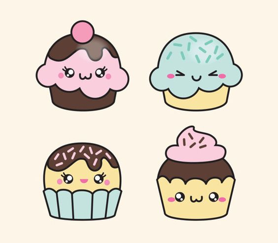 Милые и няшные картинки еды, продуктов и вкусняшек - подборка 4