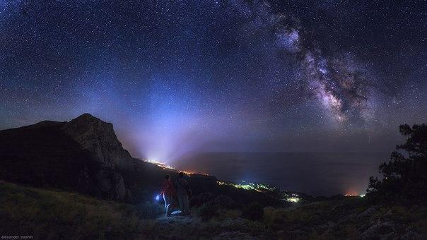 Млечный путь и другие Галактики - удивительные картинки, обои 13