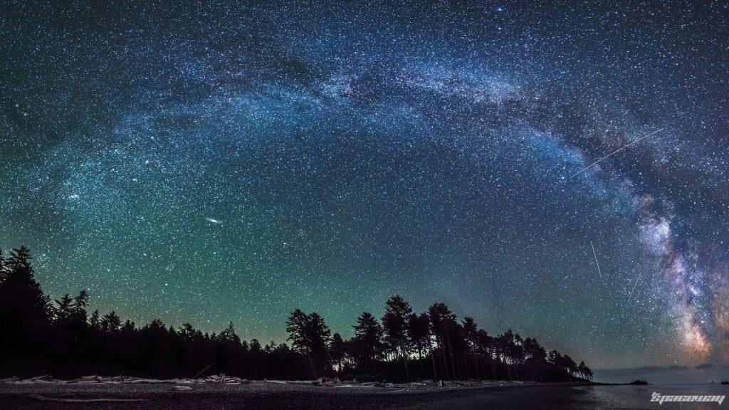 Млечный путь и другие Галактики - удивительные картинки, обои 4