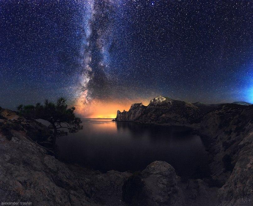 Млечный путь и другие Галактики - удивительные картинки, обои 8