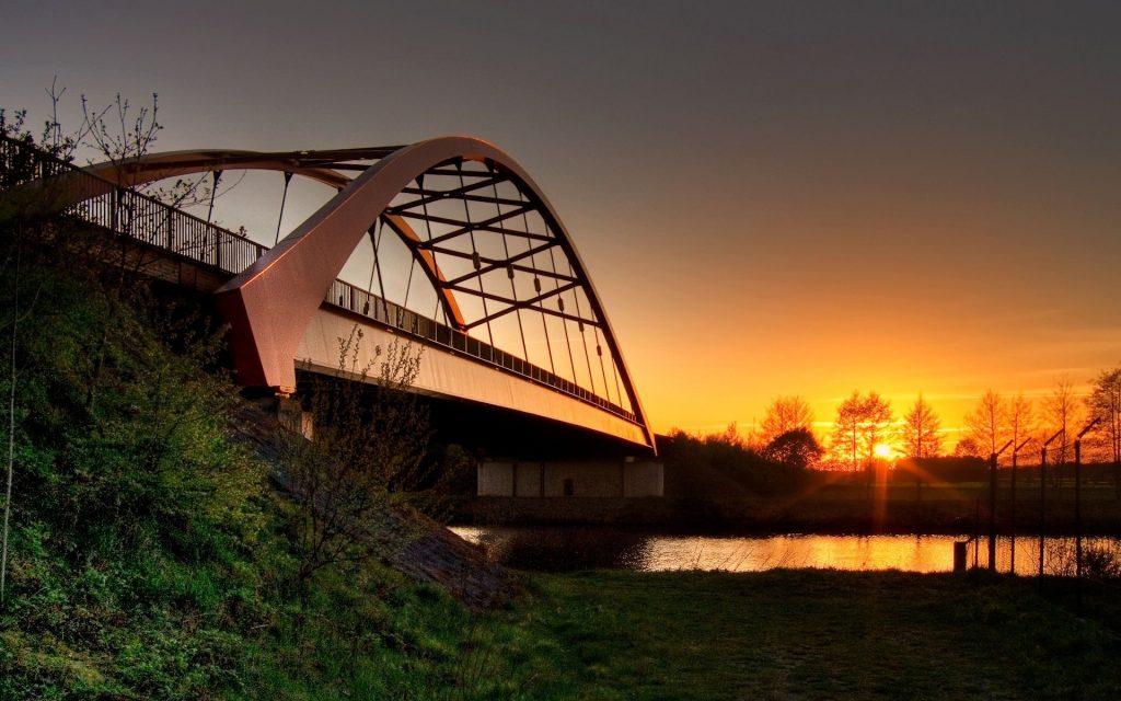 Мост через реку - красивые и удивительные картинки, фото 7