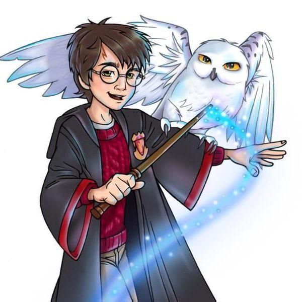 Невероятные и замечательные арты к Гарри Поттеру - подборка 10