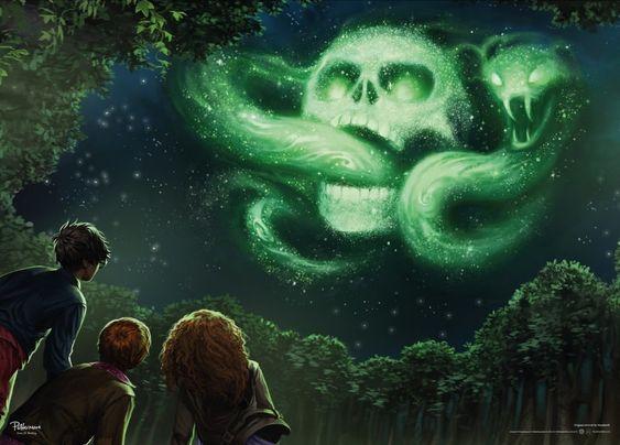 Невероятные и замечательные арты к Гарри Поттеру - подборка 16