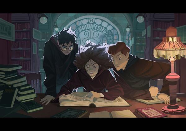 Невероятные и замечательные арты к Гарри Поттеру - подборка 17